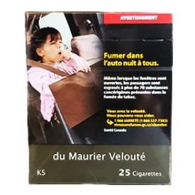 Cigarette du Maurier Velouté KS 25