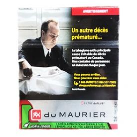 Cigarette du Maurier Signature KS 20