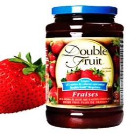 Confiture Double Fruit Fraises