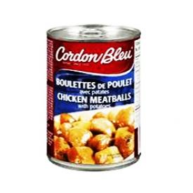 Boulettes de Poulet avec Patates Cordon Bleu 410g