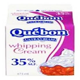 Crème Québon 35% Whipping 500mL