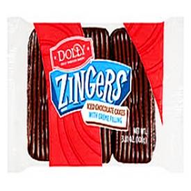 Gateau Dolly Zingers Iced Chocolat