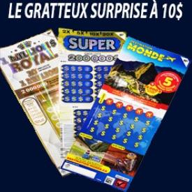 Gratteux Surprise 10$