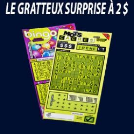 Gratteux Surprise 2$