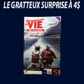Gratteux Surprise 4$