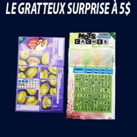 Gratteux Surprise 5$