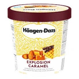 Häagen-Dazs Crème Glacé Explosion Caramel 500mL