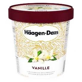 Häagen-Dazs Crème Glacé Vanille 500mL