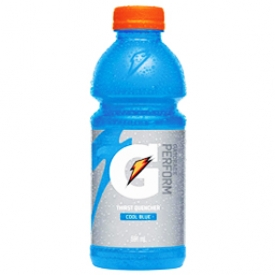 Jus Gatorade Cool Blue Bouteille 591 mL