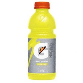 Jus Gatorade Lime Bouteille 591 mL
