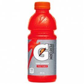 Jus Gatorade Punch aux Fruits Bouteille 591 mL