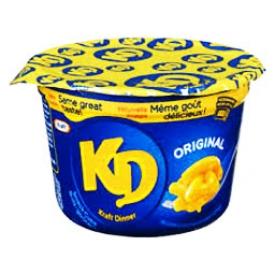 Pâte Kraft Dinner Cups