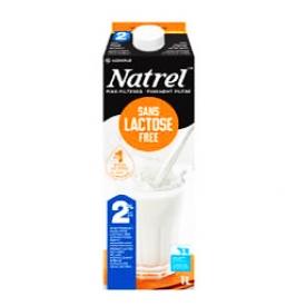 Lait Natrel Sans Lactose 2% 1L