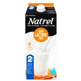Lait Natrel Sans Lactose 2L