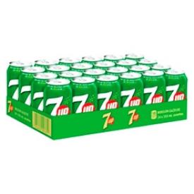 Liqueur 7up 24 Canettes 355 mL
