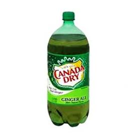 Liqueur Canada Dry Ginger Ale Bouteille 2L