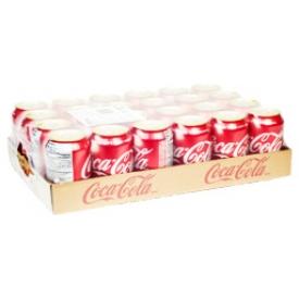 Liqueur Coca Cola 24 Canettes 355 mL