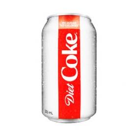 Liqueur Coca Cola Diète Canette 355 mL