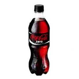 Liqueur Coca Cola Zero Bouteille 250 mL