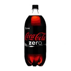 Liqueur Coca Cola Zero Bouteille 2L
