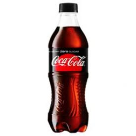 Liqueur Coka Cola Sans Sucre Bouteille 500 mL