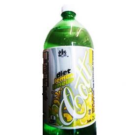 Liqueur Cott Citron LimeUp Diète Bouteille 2L