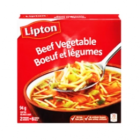 Mélange à Soupe Boeuf et Légumes Lipton 2 Sachets 94g