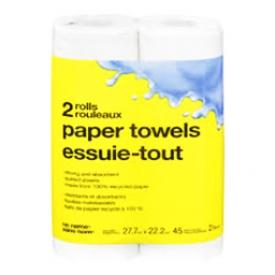 Papier d'essuie-tout No Name 2 Rouleaux