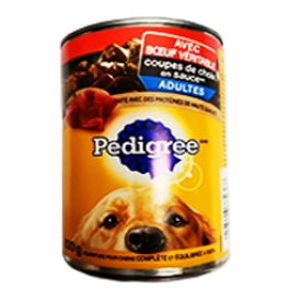 Pedigree au Boeuf Véritable Canne 630g