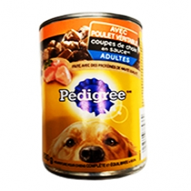 Pedigree au Poulet Véritable Canne 630g