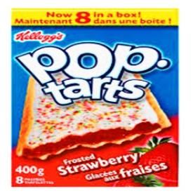Pop Tarts Glacées aux Fraises