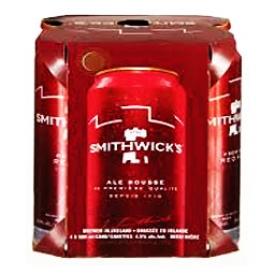 Bière Smithwick's Ale Rousse 4.5%alc 4 Canettes 500 mL