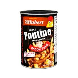 Sauce à Poutine au Bacon Fumé St-Hubert 398 mL