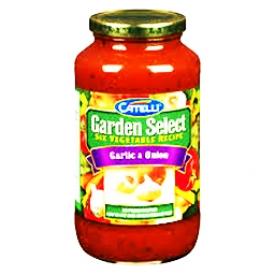 Sauce Catelli Sélection du Jardin Ail et Oignon