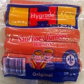 Viande Saucisses Fumées Original