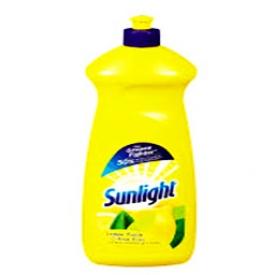 Savon à Vaisselle Sunlight aux Citron Bouteille 960 mL