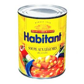 Soupe aux Légumes Habitant 796 mL
