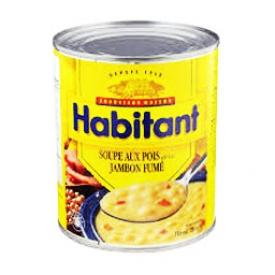 Canne de Soupe aux Pois Habitant avec Jambon Fumé