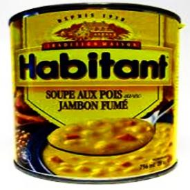 Soupe aux Pois Jambon Fumé Habitant