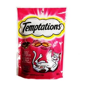 Temptations Saveur de Boeuf pour Chat