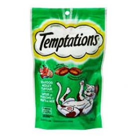 Temptations Saveur de Poissons et Fruits de Mer pour Chat