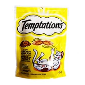 Temptations Saveur de Poulet pour Chat
