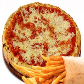 """Trio Pizza Blé Entier 4 Fromages 12"""""""