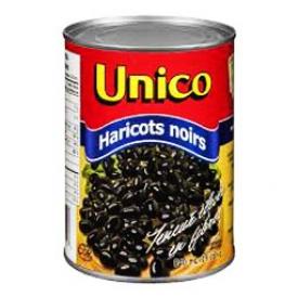 Haricots Noir Unico 540 mL