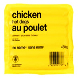 Viande Saucisses Fumées Poulet Sans Nom