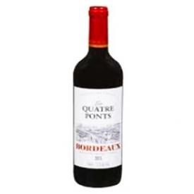 Vin Rouge Quatre Ponts Bordeaux