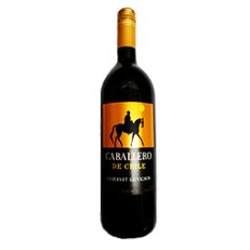 Vin Rouge Caballero Sauvignon de Chile 1L