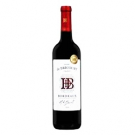 Vin Rouge Henri de Bricourt Bordeaux Merlot de France