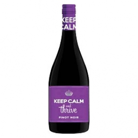 Vin Rouge Keep Calm and Thrive