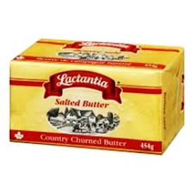 Beurre Lactantia Salé 454g